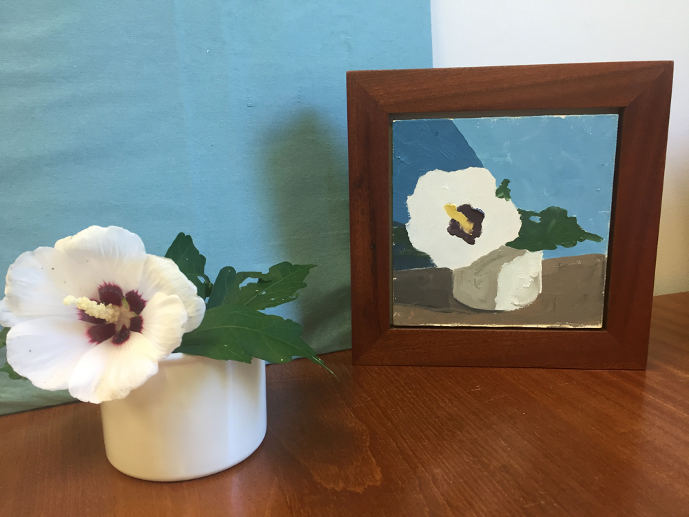 Paint By Numbers – Still Life with Rose of Sharon