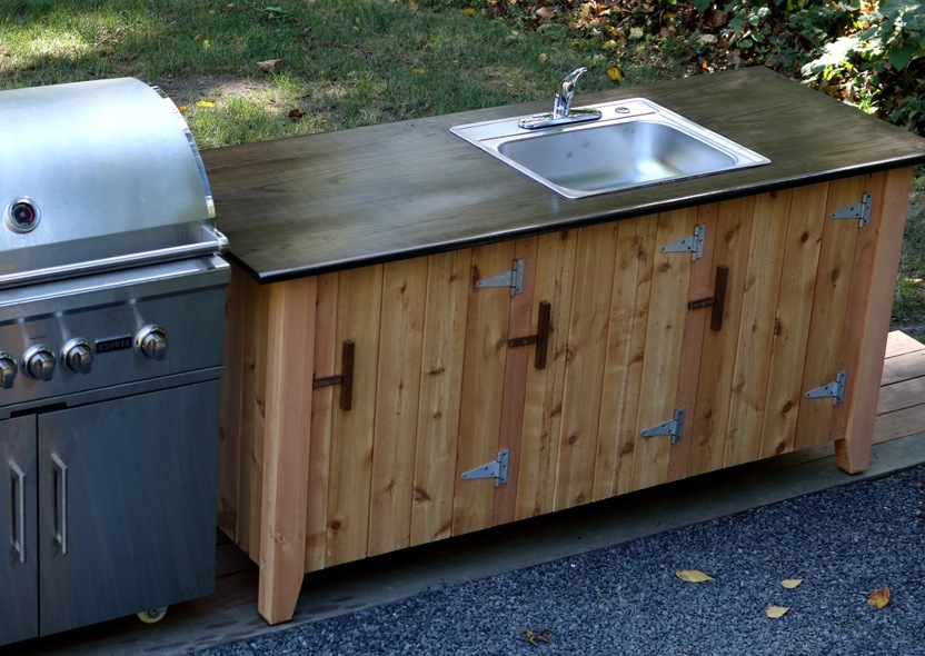 How To Build An Outdoor Kitchen Cabinet Longview Woodworking