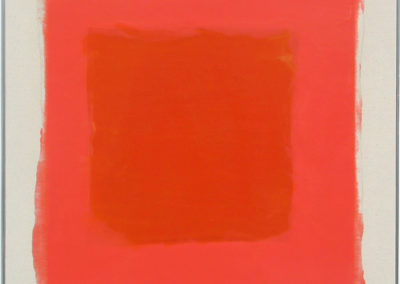 $3,500-Orange-and-Pink-9-20-03-Encaustic-on-canvas-24x24