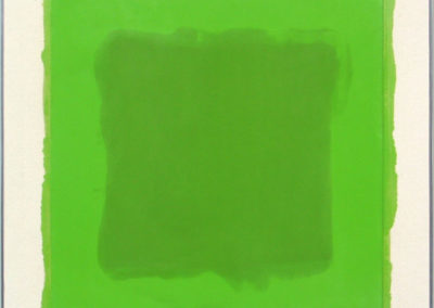 SOLD-$2,500--Green-and-Green-10-12-03-Encaustic-on-canvas-24x24