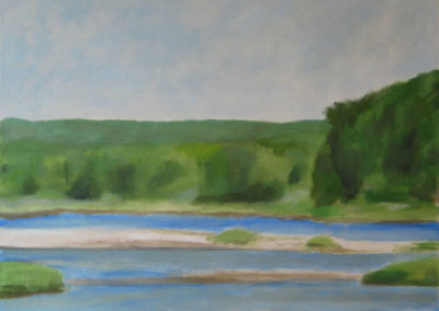 Sold.-Navesink-River,-View-from-Sea-Bright.-2010-oil-on-canvas-36-x-40