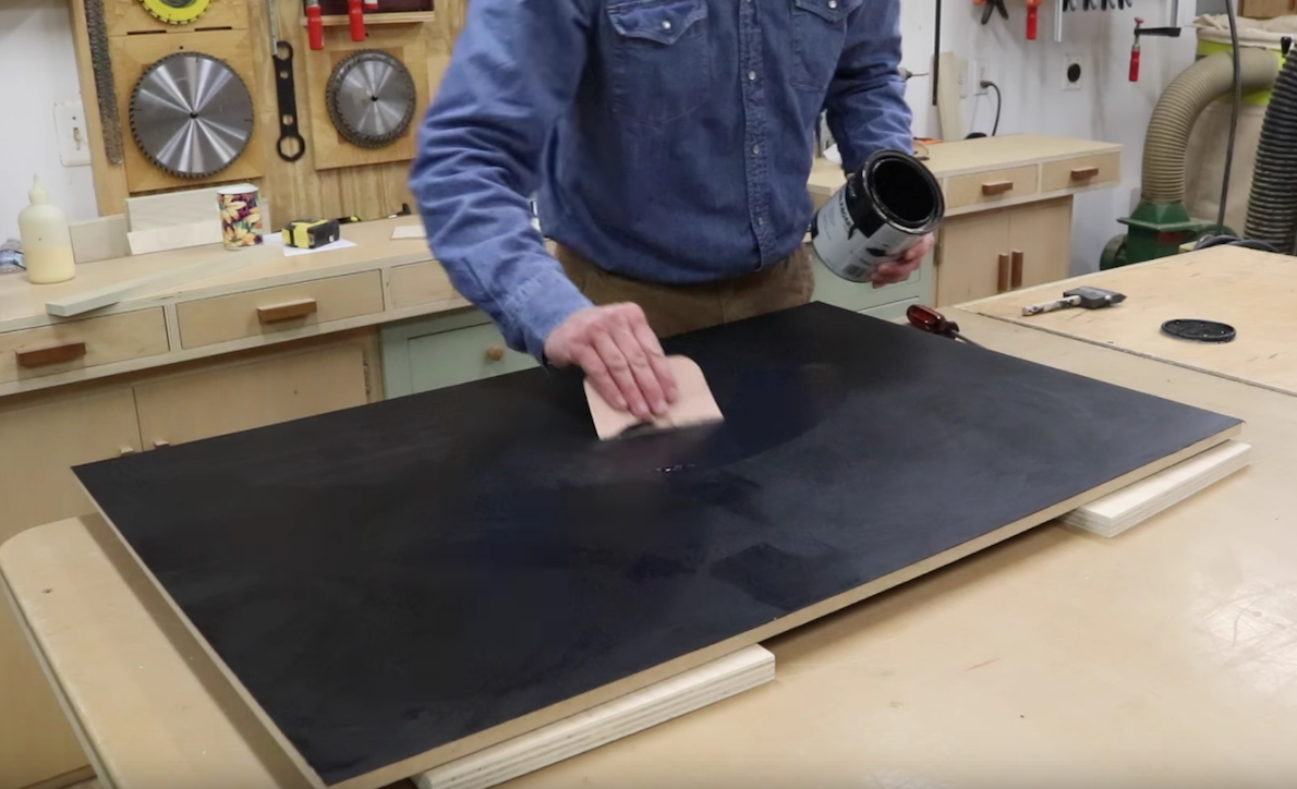 How To Make a Magnetic Chalkboard – Smooth Finish