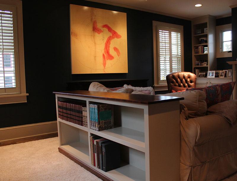 Sofa Table Bookcase – Free Design Plans