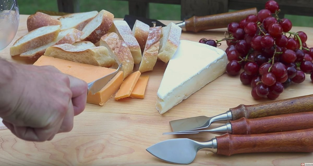 Lathe Project – How to Make Cheese Knife Handles
