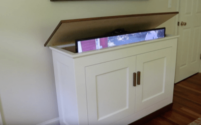 Build a TV Lift Cabinet – Free Design Plans