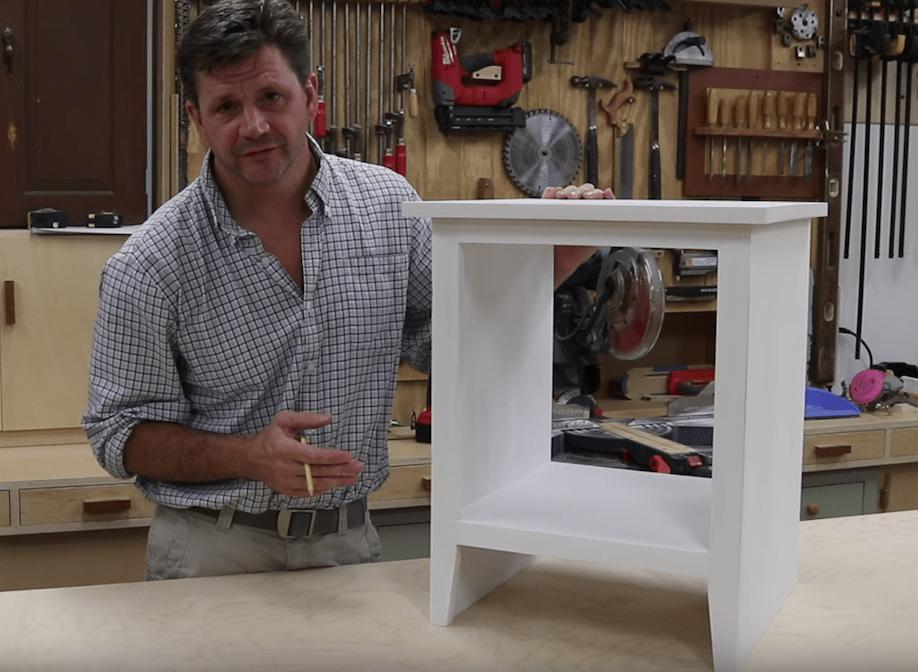Bedside Table – Free Design Plans