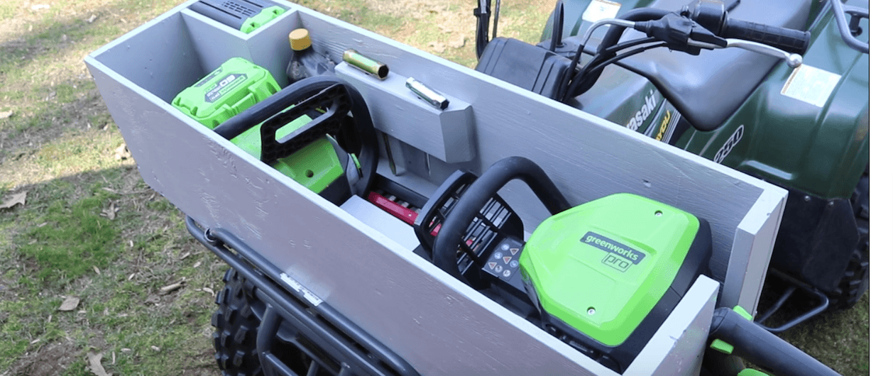 Build a Toolbox for a Four Wheeler ATV