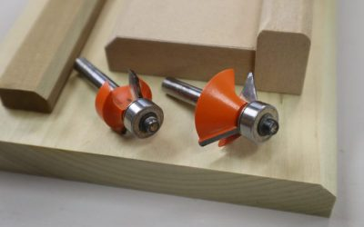 Must Have Router Bits for Classic Wainscot Chair Rail