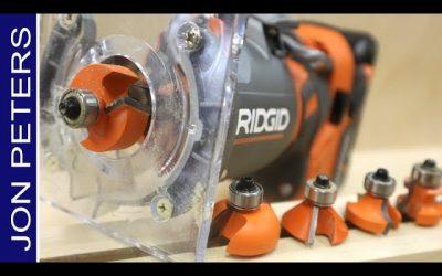 RIDGID Cordless Router Review – Rabbet Bit