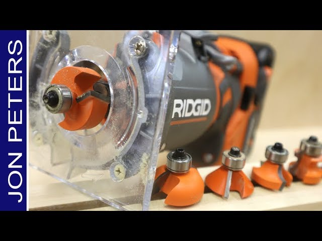 RIDGID Cordless Router Review – Rabbet Bit