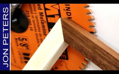 Perfect Miter Cuts – How to Make a Sacrificial Fence