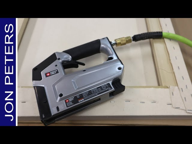 Pneumatic Staple Gun – How to Stretch a Canvas