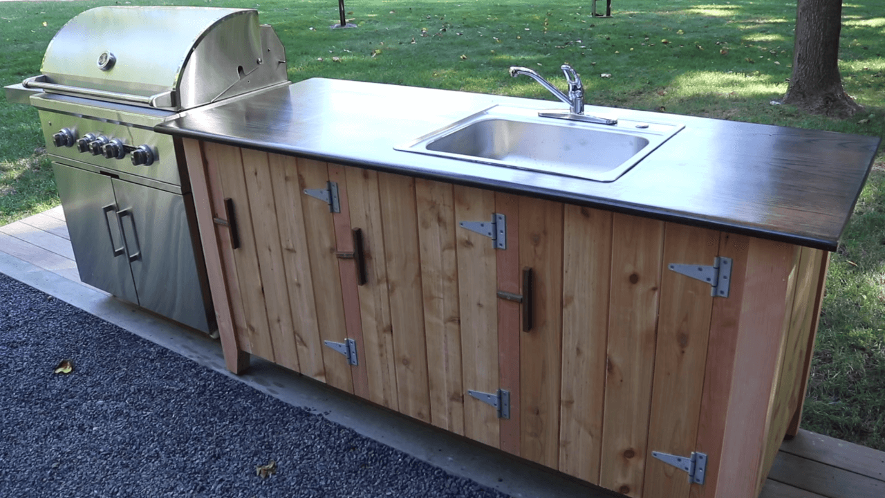 How To Build An Outdoor Kitchen Start To Finish Longview