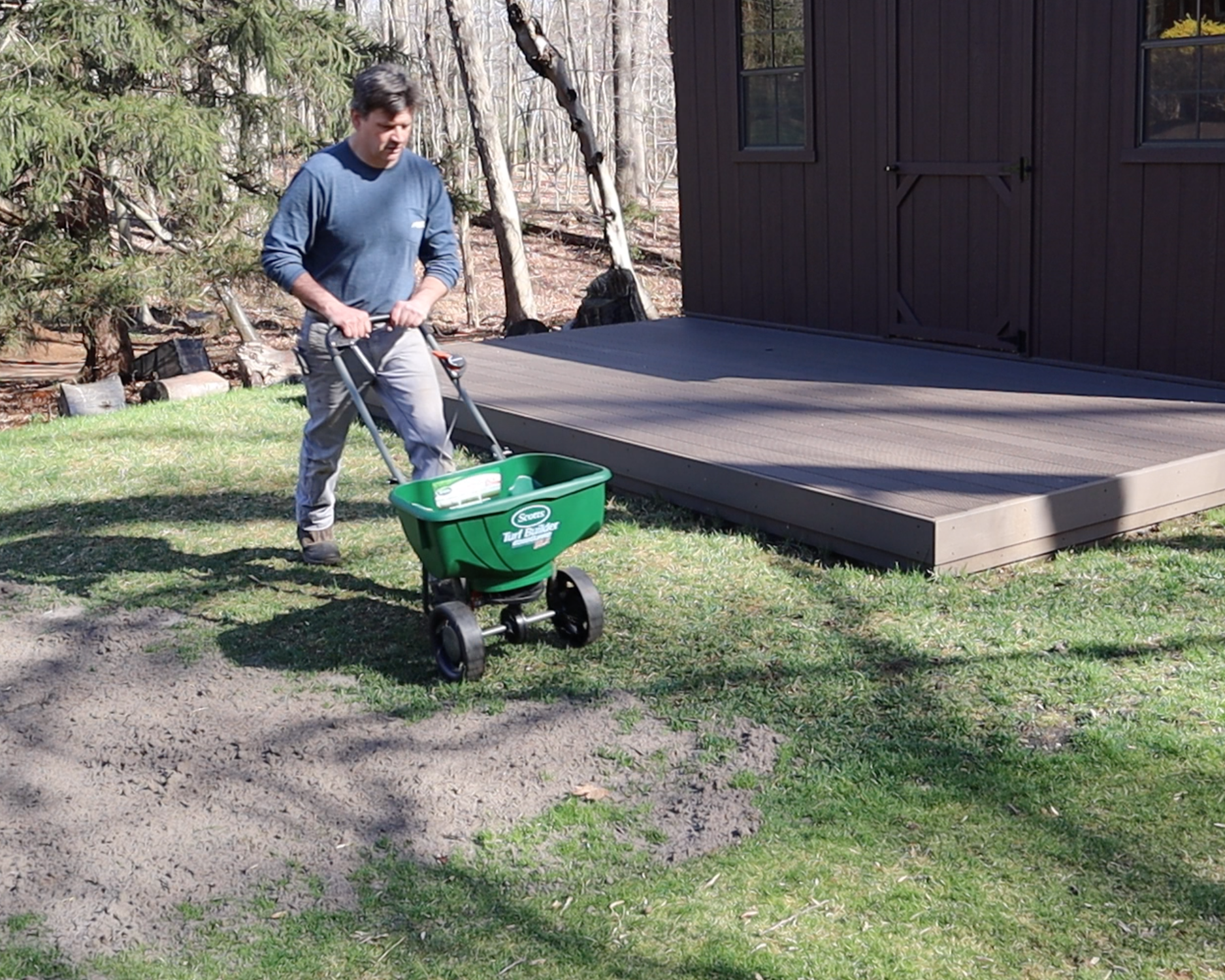 Spring Lawn Prep With Scott S New Foundation Soil Improver